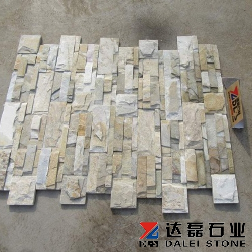 Yellow Interior Stone Wall Panels Culture Stone For Sale